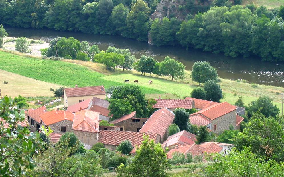 A hamlet in the Auvergne